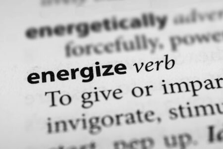 energize: Energize Stock Photo