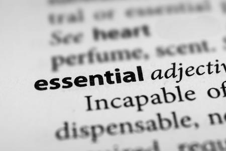stipulation: Essential