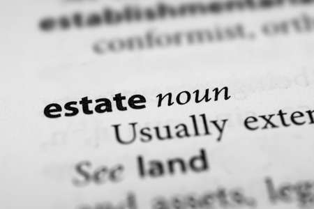 estate: Estate