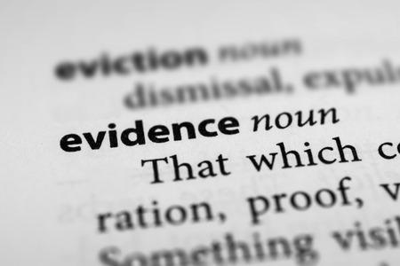 testify: Evidence