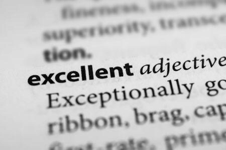 exemplary: Excellent