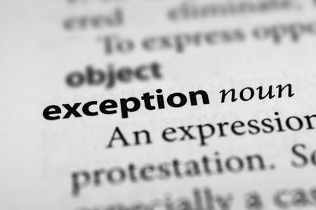 misfit: Exception