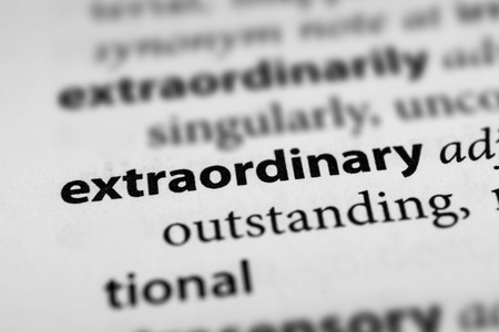 exceptional: Extraordinary Stock Photo