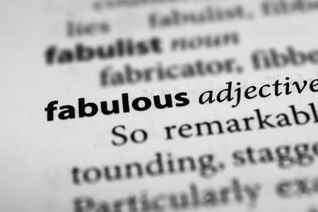 prodigious: Fabulous
