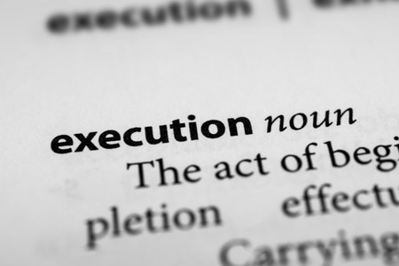 capital punishment: Execution Stock Photo