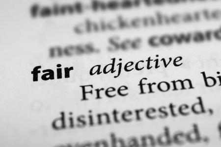 legitimate: Fair