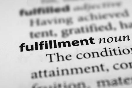 enactment: Fulfillment