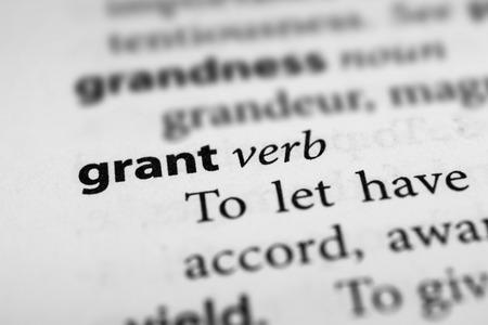 grant: Grant