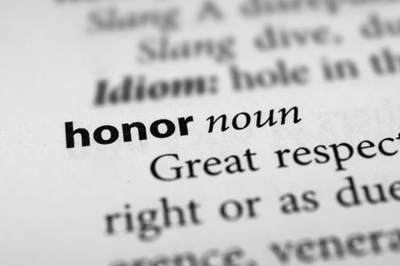 notability: Honor