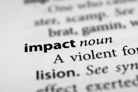 impact: Impact Stock Photo
