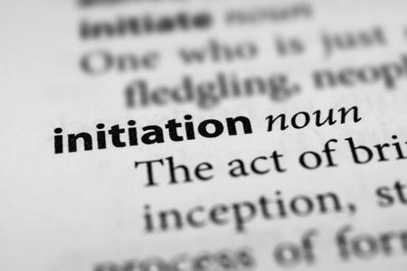 instigation: Initiation