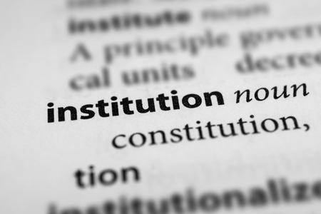 instigation: Institution Stock Photo