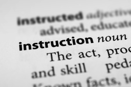 injunction: Instruction