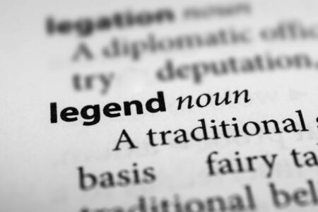 legend: Legend Stock Photo