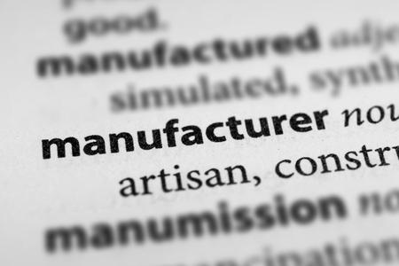industrialist: Manufacturer