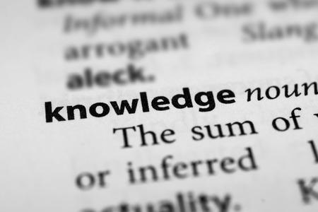 Knowledge Zdjęcie Seryjne