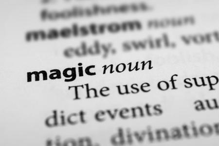 conjuring: Magic Stock Photo