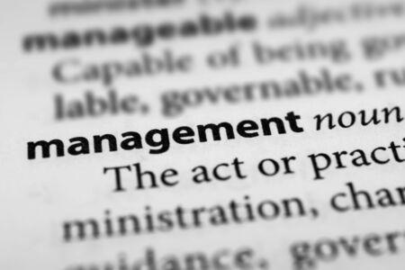 superintendence: Management Stock Photo
