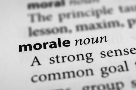 aplomb: Morale