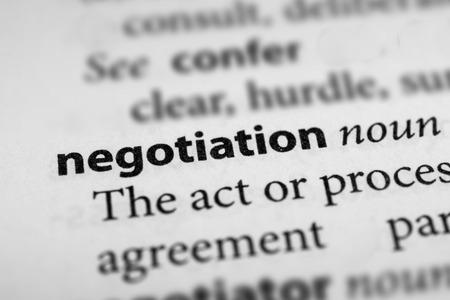 negociacion: Negociación