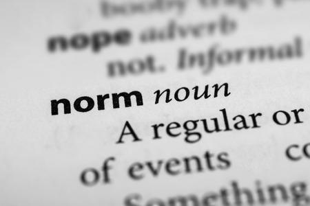 Exemplar: Norm