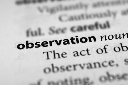 observation: Observation