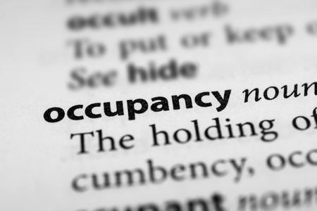 occupancy: Occupancy