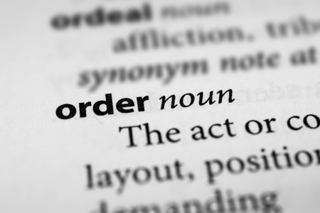 edicto: Orden