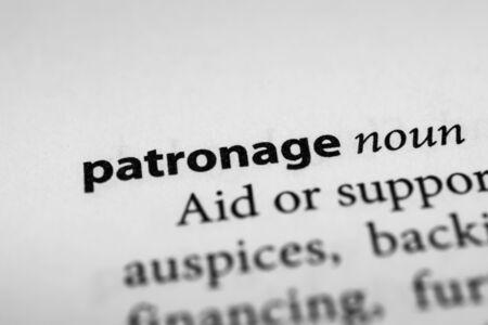 patronage: Patronage