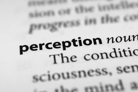 percepción: Percepción Foto de archivo