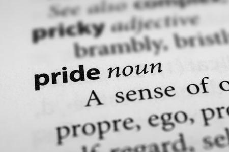 arrogancia: Orgullo  Foto de archivo