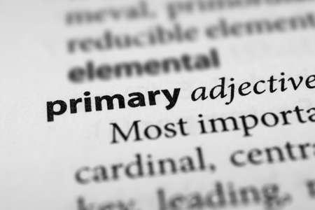 predominant: Primary