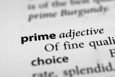 prime: Prime Stock Photo