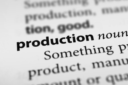 concoct: Production Stock Photo
