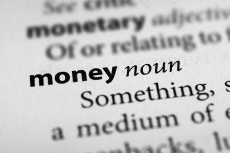 affluence: Money Stock Photo