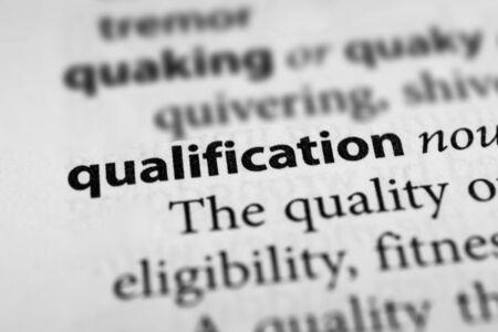 adequacy: Qualification