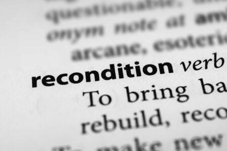 rebuild: Recondition
