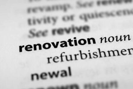 gentrification: Renovation