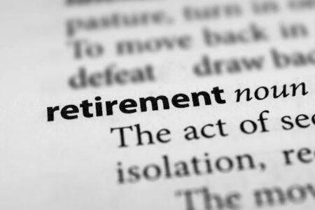 Retirement Фото со стока