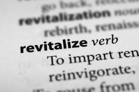 resuscitate: Revitalize