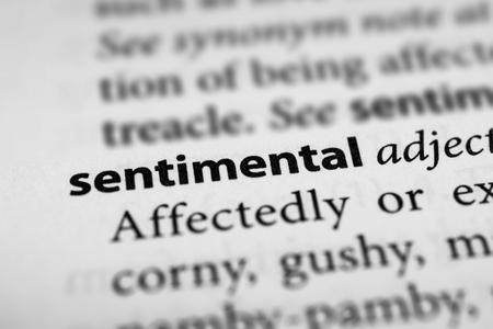 sickly: Sentimental