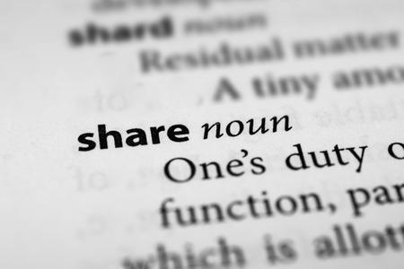 allocate: Share