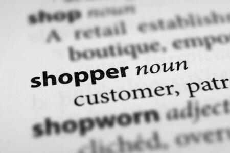 shopper: Shopper Stock Photo