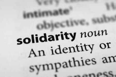 fraternity: Solidarity