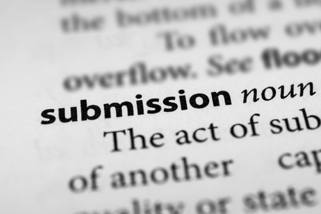 assertion: Submission Stock Photo