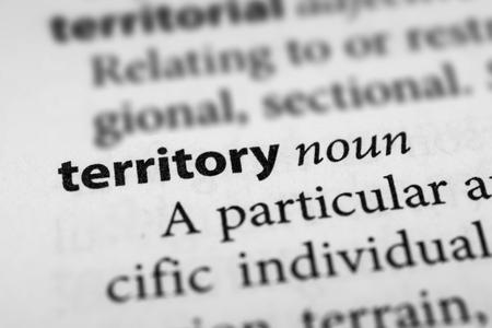 protectorate: Territory Stock Photo