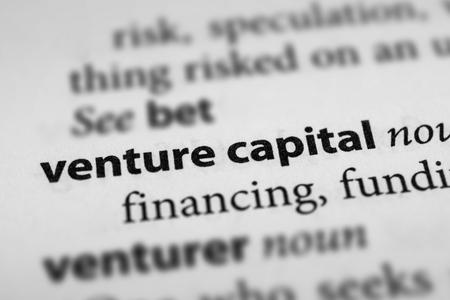 venture: Venture capital Stock Photo