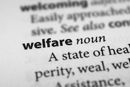 public welfare: Welfare