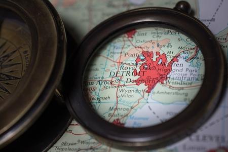 Detroit Zdjęcie Seryjne - 51056447