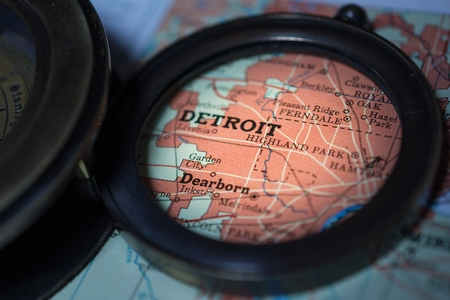 Detroit 版權商用圖片